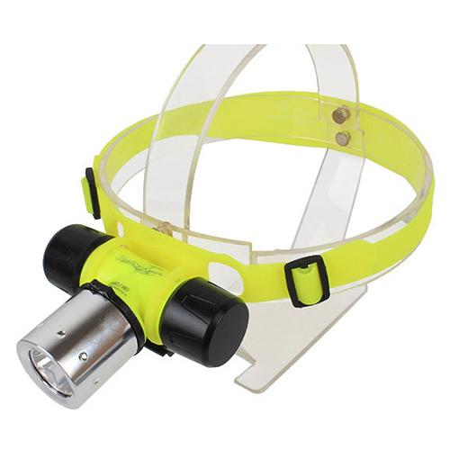 Goread GD42 3W EPISTAR Chip LED Head Light Bike Light High Power Aluminum Dive Flashlight 3in1