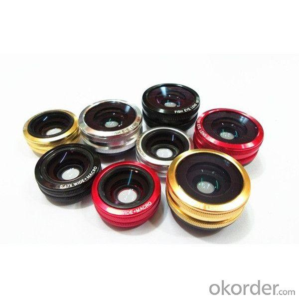 Super Wide 0.67X For Mobile Phone Zoom Lens Universal Clip Lens 3 In 1