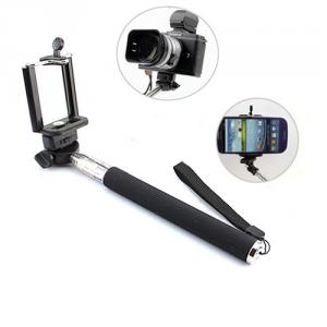 Universal Mobile Phone Holder Stand Rotary Extendable Handheld Camera Tripod Wireless Mobile Phone Monopod