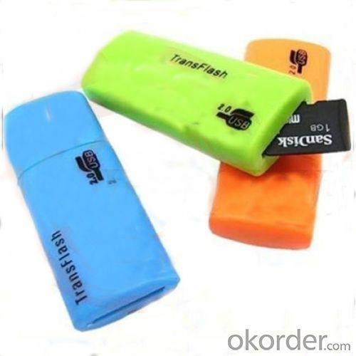Hot Sell Mini Micro USB SD/TF Card Reader With Working LED Light,micro card redaer