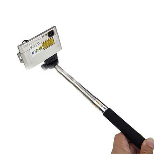 Z07-1 Extendable Aluminum Mini Handheld Monopod
