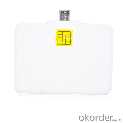 Smart card reader compatible with android phone tablet