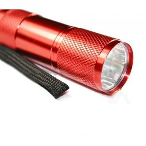 Hot Mini Cheap Aluminum 9 LED Flashlight For Promotion Gift Item