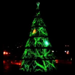 Ahl Model S16-1 Rgb Led Christmas Trees