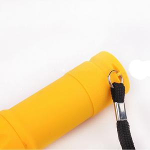 Promotion Mini 9 LED Flash Light With Rubber Coating
