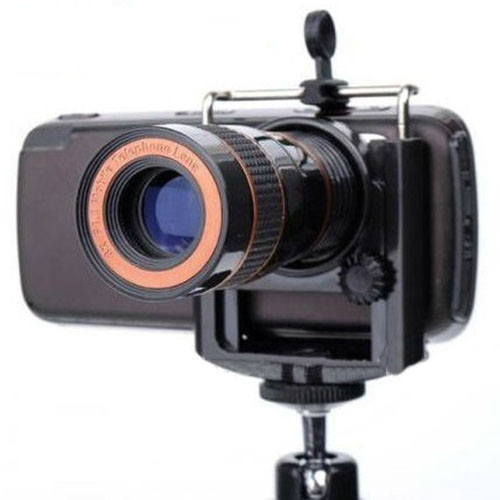 Optical 8X Zoom Lens For Mobile Phone Universal Holder Mobile Phone Telescope Lens