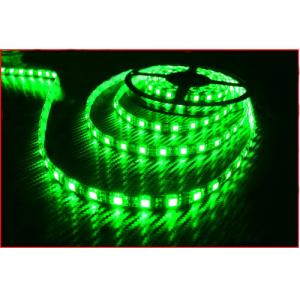 1 Roll 5M/Lot 5M 60Led/M 300 Led Strip Light 5050 Smd Green Flexible Waterproof 12V Led Lights Fff