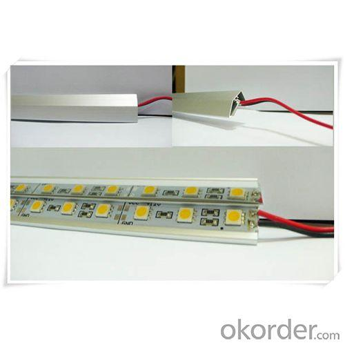 12V Smd Aluminum Hard Led Strip Rigid Led Bar 5050 Warm White/White/Cold White/Rgb 60Led/M