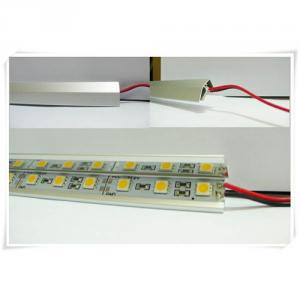 12V Smd Aluminum Hard Led Strip Rigid Led Bar 5050 Warm White/White/Cold White/Rgb 60Led/M
