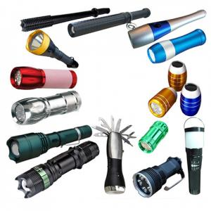 HOT!! All Kinds Of EDC Flashlight Aluminum Heavy Duty Torch LED Flashlight