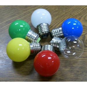 G45 Round Globe Golf Ball Light Bulbs E27 B22 Led Holiday Bulb