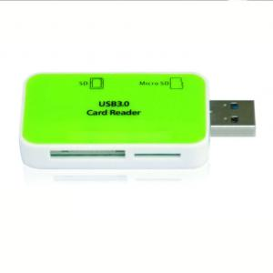 VCOM New Design Small White And Green USB Reader