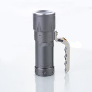 Rechargeable Waterproof Aluminum Powerful CREE LED Flashlight