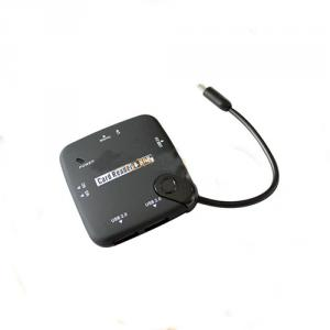 OTG USB Hub +Card Reader Camera Connection Kit for Samsung S3/S4/Note2 from dailyetech