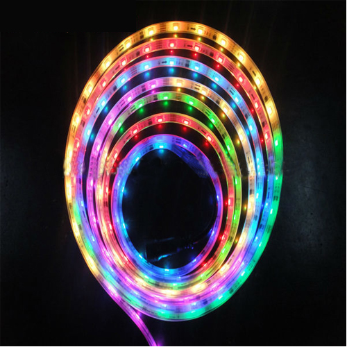 5050Smd 5V 32Pcs Ip68 Waterproof Digital Magic Dream Color Led Strip With Ws2801