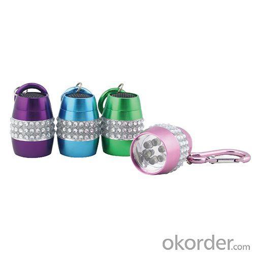 Hot Mini Cheap Aluminum 9 LED Flashlight For Promotion Gift Item