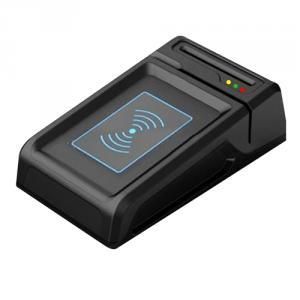 All in one magnetic card smart card reader and writer