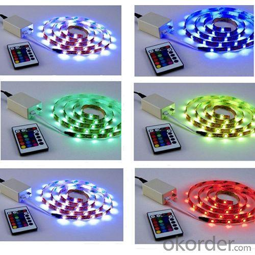 Rgb Led Strip Light From Oem And Oem Led Lighting Factory In China