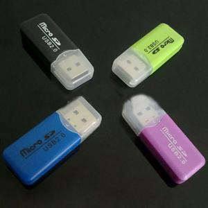 Cool refreshing/reader/TF/Micro SD true USB2.0 at a high speed Multi card reader