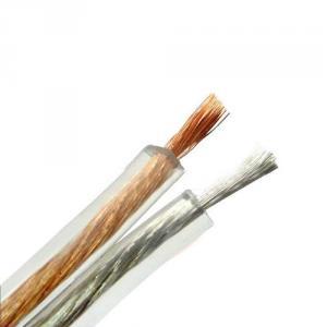 Hot Sale Transparent Pvc 2 Core Speaker Cable