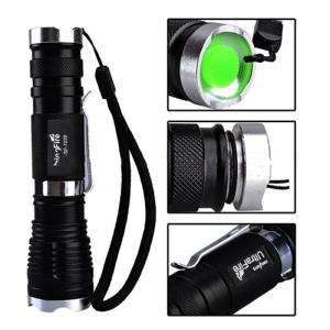 Rechargeable Zoomable Led Cree T6 Torch Light