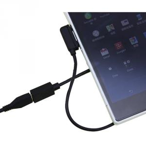 20Cm Magnetic Charging Adapter Micro Usb Female Magnetic Charging Cables For Sony Xperia Z1 Compact Z Ultra Xl39H Z1