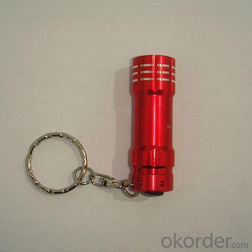 Mini LED flashlight with carabiner
