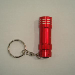 Mini LED flashlight with carabiner
