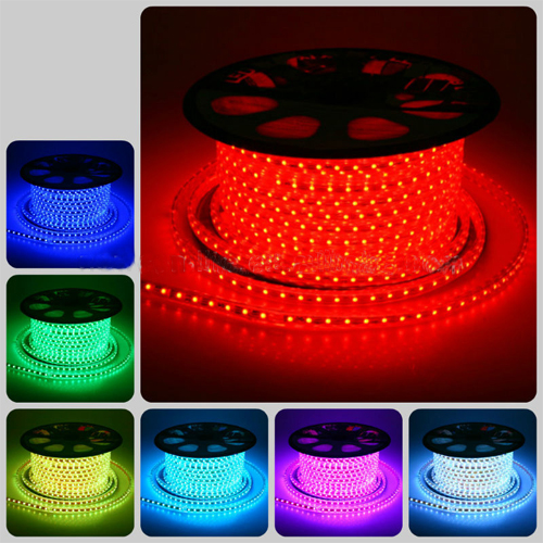 High Lumen 100M/Roll Flexible Led Strip 220V