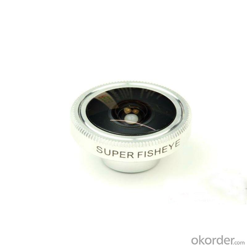 New Coming 190 Degree Fish Eye Lens For Iphone 5 5G Retail Box