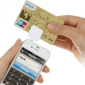 3.5mm Credit Cards Magnetic Reader Mobile Track 2 without Encryption Supply SDK for iOS and Android