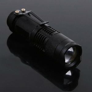 200 Lumen Mini CREE Q5 Led Zoomable Flashlight Torch