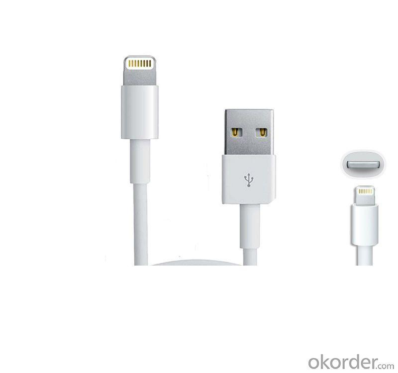 For Iphone 5 5S 5C Cable Cord 1M 3Ft Support Ios 7.0