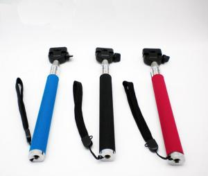 F05444 Universal Retractable Handheld Monopod No Tripod Mount For Gopro Hero 1/2/ 3 Suptig Digital Camera Dv