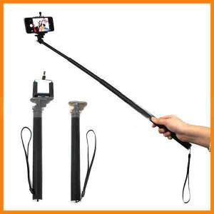 Universal Mobile Phone Holder Stand Rotary Extendable Handheld Camera Tripod Mobile Phone Monopod
