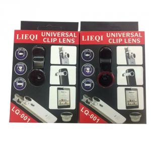 3In1 Fisheye Lens + Micro Lens + Wide Angle Kit Universal 3-In-1 Clip Lens For Iphone/Samsung/Htc