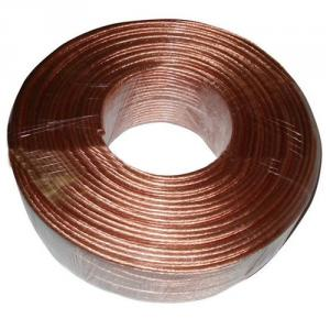 Bare Speaker Wire With Transparent Pvc