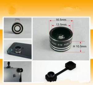Mini Fisheye Lens For Mobile Phone Magnetic Lens 180 Degree Camera Lens For Galaxy Note 3