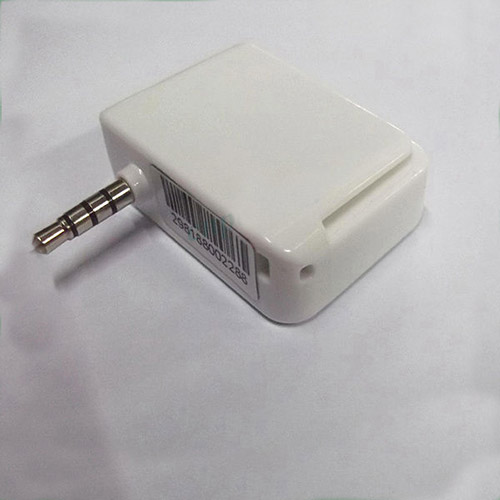 3.5mm Headphone Audio Jack Pay Tellphone Mobile Phone chip credit card reader for Iphone Andriod