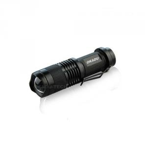Super Bright Rechargeable Mini Zoom CREE Flashlight