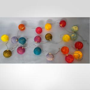 Cotton Ball Led Light Chain
