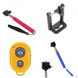 Camera Extendable Handheld Monopod Selfie Wireless Bluetooth Remote Shutter