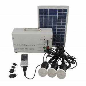 China Manufacture 8W 18V Solar Panel 1A Battery Solar System With Mobile Charge Cell Phone Charger
