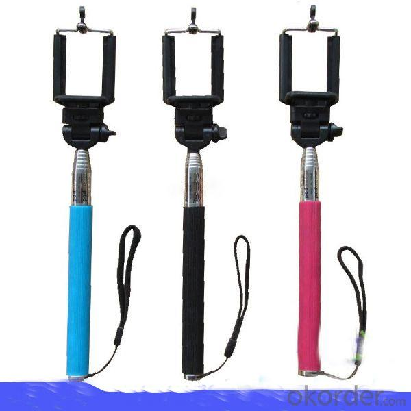 Colorful Camera Handheld Monopod For Mobile Phone Smartphone Stainless Steel Flexible Monopod