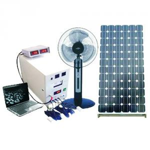 China Factory High Quality Rechargeable 150W Solar Panel 100A Battery Solar System With Mobile Charge Charging Control
