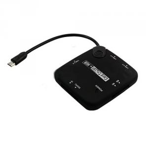 Multifunctional and Wholesale OTG USB Hub and Card Reader Micro USB Type Hub and Card Reader