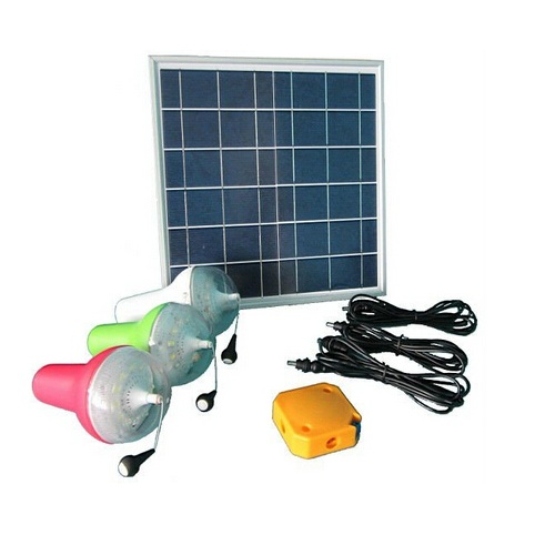 Solar Home System Solar Lighitng System Portable Lamps 10W 5V With Remote Control And Mobile Phone Charge