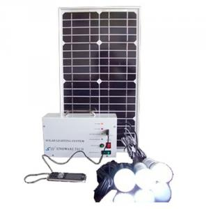 China Factory Newest 5W 18V Solar Panel 4.5A Battery Solar System With Mobile Charge Cell Phone Charger