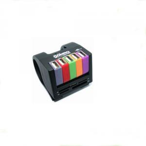 Colorful USB 5 port hub+MS/M2/TF/SD cardreader combo