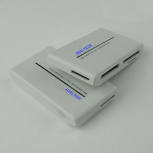 All in one USB2.0 MS/ M2/ SD / TF/ Micro SD memory card reader with exclusive patent protection
